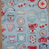 TeaTime Print Fabric DESTASH