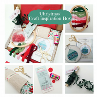 Christmas craft gift box