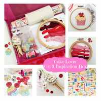 'Bake lover' gift  box for craft lovers