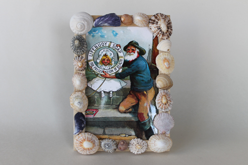 Sea Shell Frame - Lifebuoy Soap
