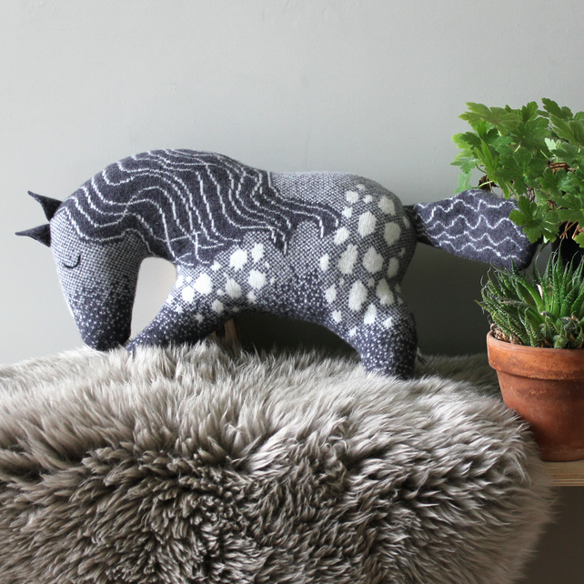 Knitted Lambswool Horse