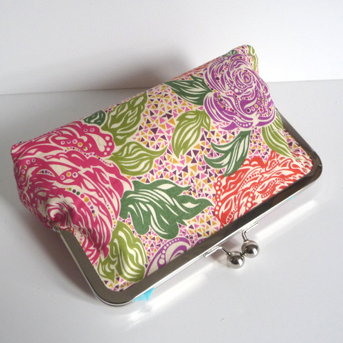 Make Up Bag = Liberty Print