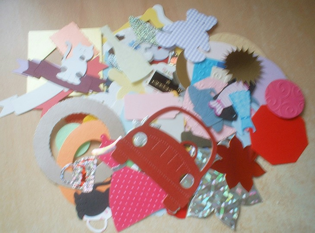 Assorted Die-cuts (100)