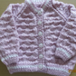 Girls Button Through Cardigan 20""