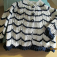 Navy and White Baby Jacket 20""