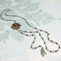 Ginevra reworked vintage necklace
