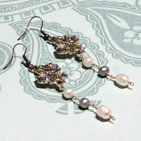 Henrietta reworked vintage earrings
