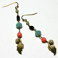 Djinn reworked vintage earrings