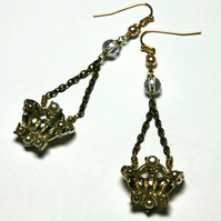 Highness reworked vintage earrings