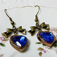 Love disco reworked vintage earrings