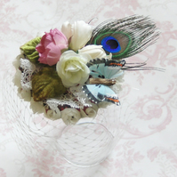 Darling buds fascinator.