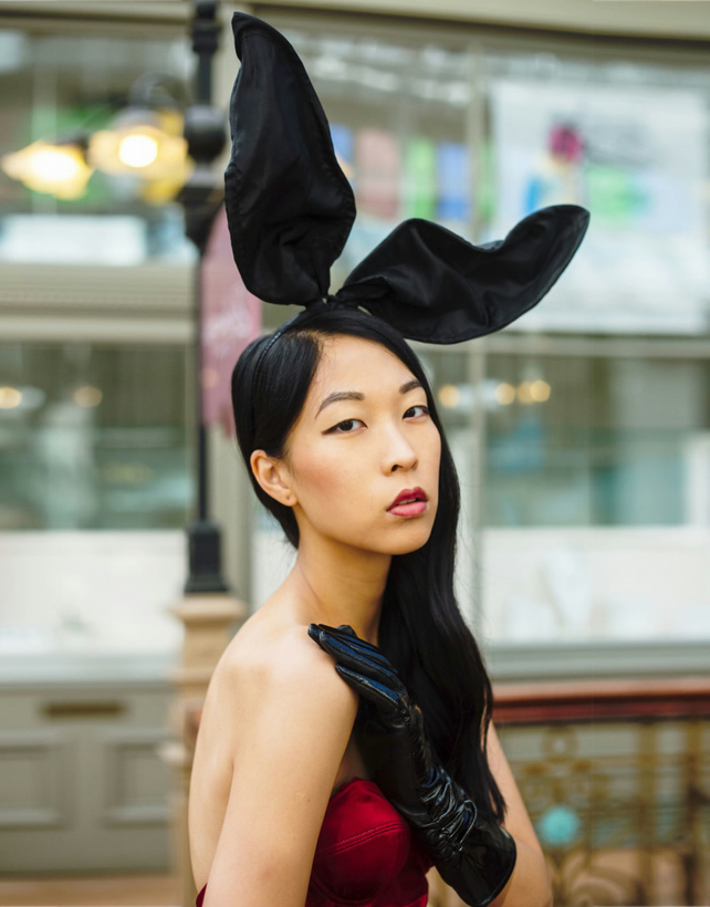 Bunny Ears Headband by Talulahblue