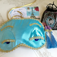 Breakfast at Tiffany's sleep mask and ear plugs gift set.