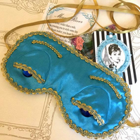 Breakfast at Tiffany's sleep mask .