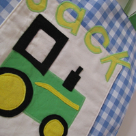 Personalised Tractor Tote bag