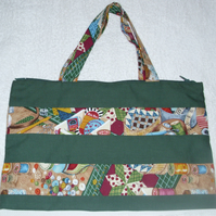 Sewing implements work bag