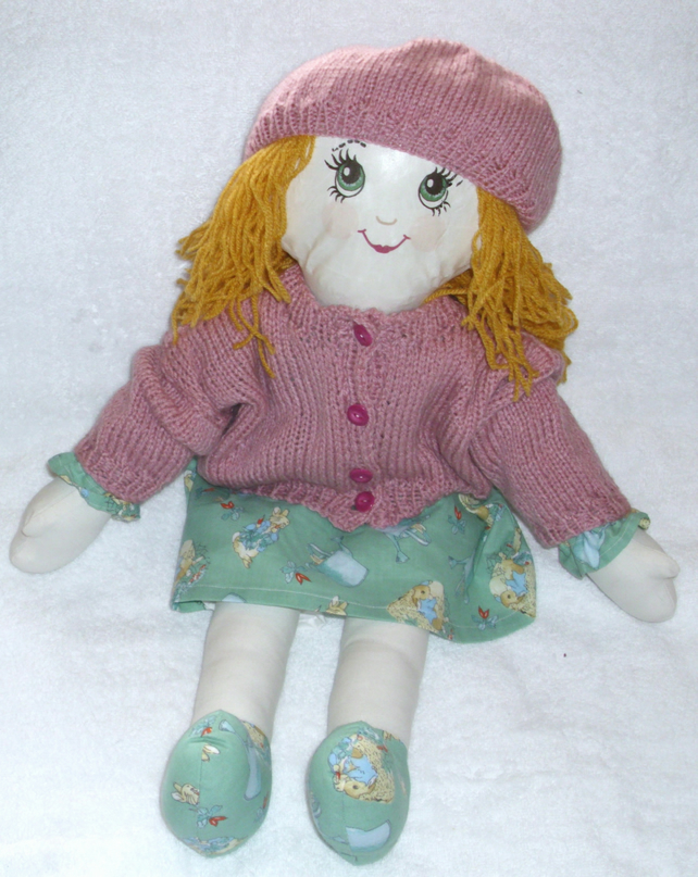 Meet Olivia one of Mary Elizabeth's Rag Doll