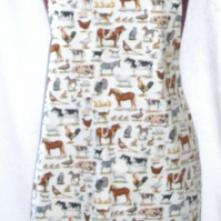 On the farm Adult Apron