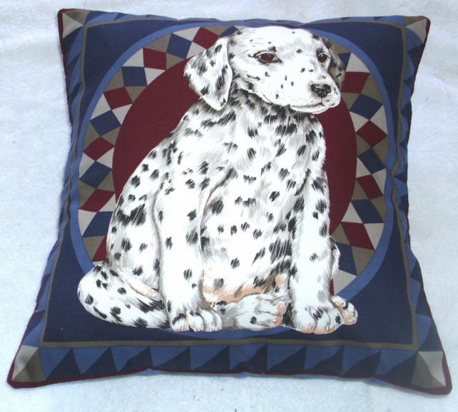 Dalmation Pup sitting cushion