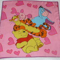 Winnie the Pooh with Tigger, Eeyore and Piglet too vintage cushion
