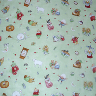 Nursery Rhymes cot quilt