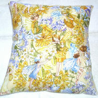 Pretty Flower Fairies cushion