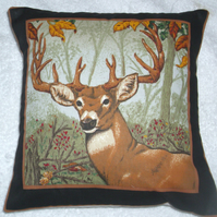 A Stag facing front left cushion