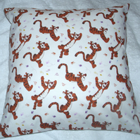 Bouncing Tigger cushion