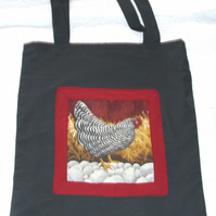 Fancy Hens shopping bag