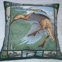 Mallards in the marsh cushion