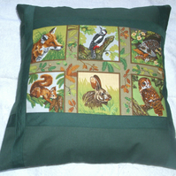 Friends of the forest cushion