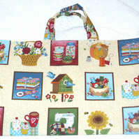 Sewing implements craft bag