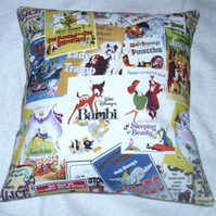 Disney Film Posters Cushion