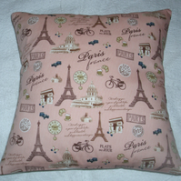 Paris scenes cushion