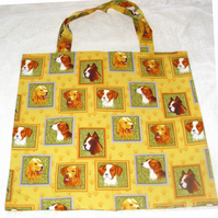 Doggy portraits shopping bag !