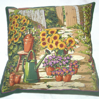 on the garden path cushion