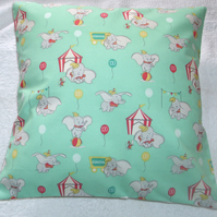 Dumbo the flying elephant and the big top cushion