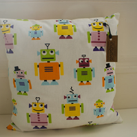 Cute Robot Cushion