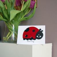 Love Bug Valentine's Day Card