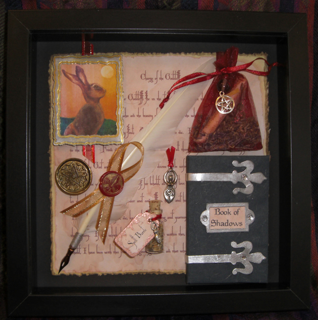 Goddess Gaia Shadow Box