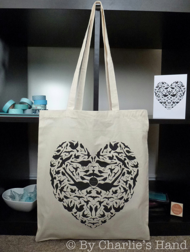 'TweetHeart' Tote Bag