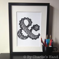 Ampersand A3 Giclee Print