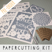 PRE-ORDER By Charlie's Hand Beginners Papercutting Kit