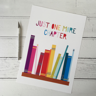 Just One More Chapter A4 Giclee Print