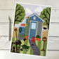 Potting Shed A4 Giclee Print
