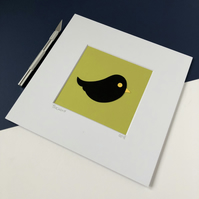 Blackbird Original Papercut