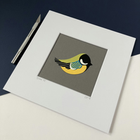Great Tit Original Papercut