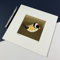Goldfinch Original Papercut