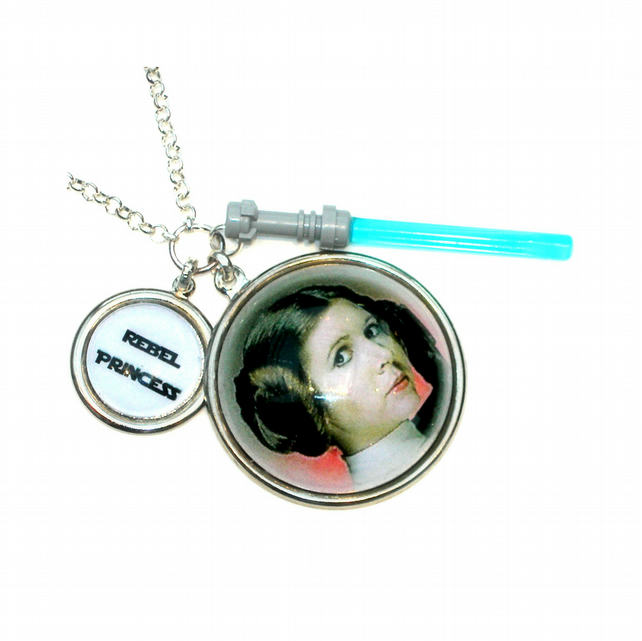 Rebel Princess Charm Necklace