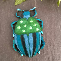 Insect bug brooch